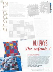 "Article dans Magic Patch ""Shopping au pays des enfants"""