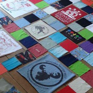Phase de design d'un patchwork personnalisé