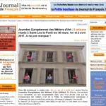 vignette pour liens vers le Journal de François, article blog sur les JEMA 2017