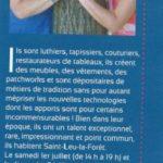 Article Salon des Talents de Saint Leu La Forêt : Le savoir-faire et le faire-savoir