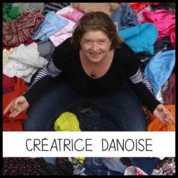 La créatrice danoise, à l'origine de la production artisanale de Repatchit