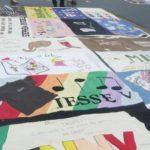 Ce patchwork n'a pas été fait par Repatchit. Il s'agit du Memory quilt SIDA,vue en Washington DC en 2012