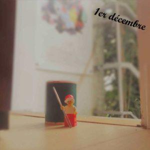 1er décembre, un lutin Lego arrive