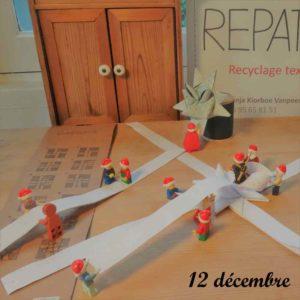 """12 décembre, les lutins Lego fabrique des """"julestjerner"""""""