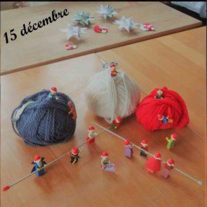 15 décembre, les lutins veulent des pulls de Noël
