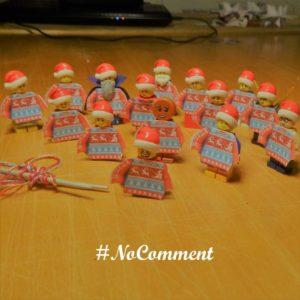 15 décembre, es lutins ont des pulls de Noël