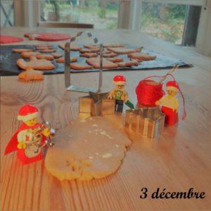 """3 décembre, les lutins font des """"honningkager"""""""