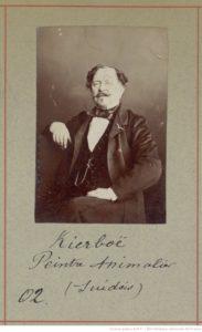 Kierboë, peintre suédois. Photo trouvé sur Gallica.bnf.fr