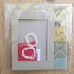 Kit pour faire une carte de vœux Année d'Amour