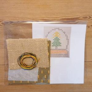 Kit pour décorer une boite d'allumettes