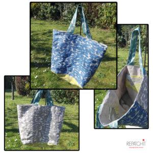 "Exemple d'un sac ""shopping"""